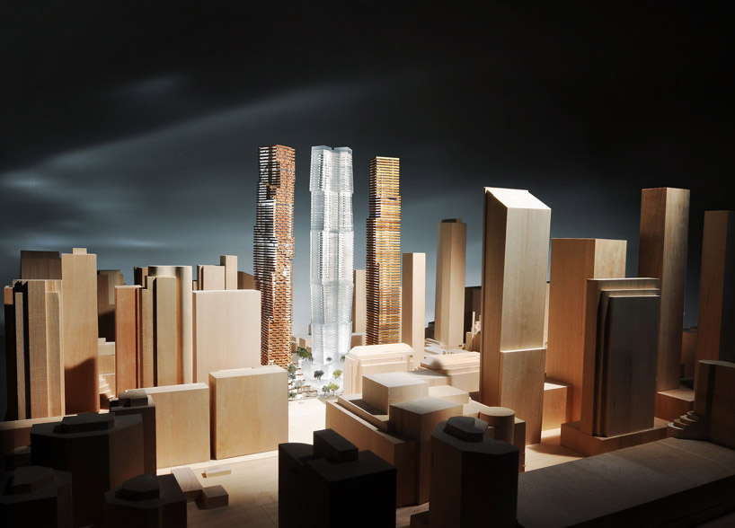 frank gehry + david mirvish: plans for entertainment district in toronto