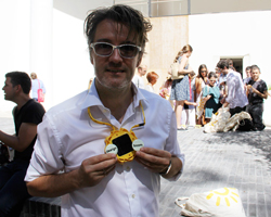 olafur eliasson's little sun at venice biennale