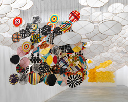 jacob hashimoto at ronchini gallery