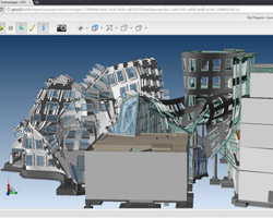 gehry technologies: GTeam interface for architects