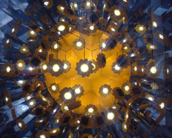 olafur eliasson's little sun at la rinascente, milan