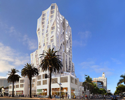 frank gehry to build ocean avenue project in santa monica