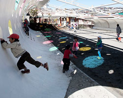 etre design: playground for machida kobato kindergarten