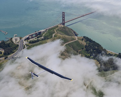 solar powered aircraft embarks across the USA